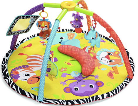 Infantino 動物遊戲墊 Infantino Twist and Fold Gym, Baby Animals
