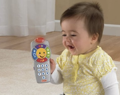 費雪寶寶音樂控制器Fisher-Price Laugh & Learn Click 'n Learn Remote